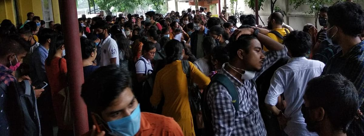 College management allegedly failed to take initiative to maintain COVID-19 safety protocols on August 11