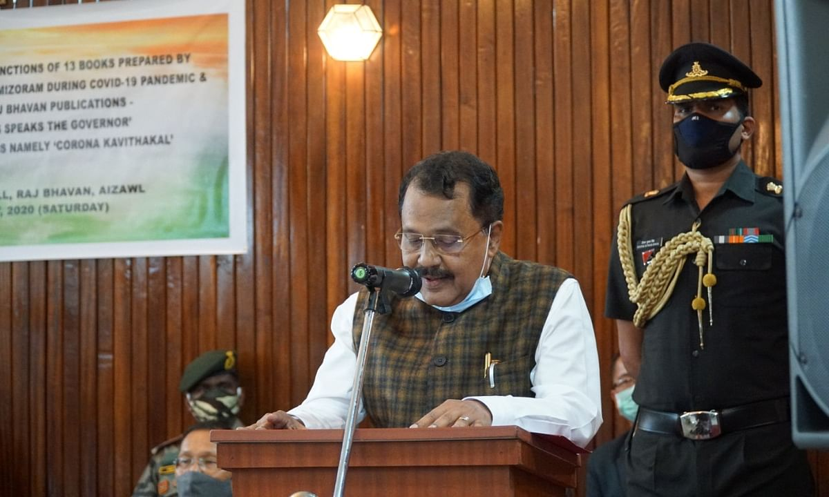 PS Sreedharan Pillai was appointed as the Governor of Mizoram in 2019