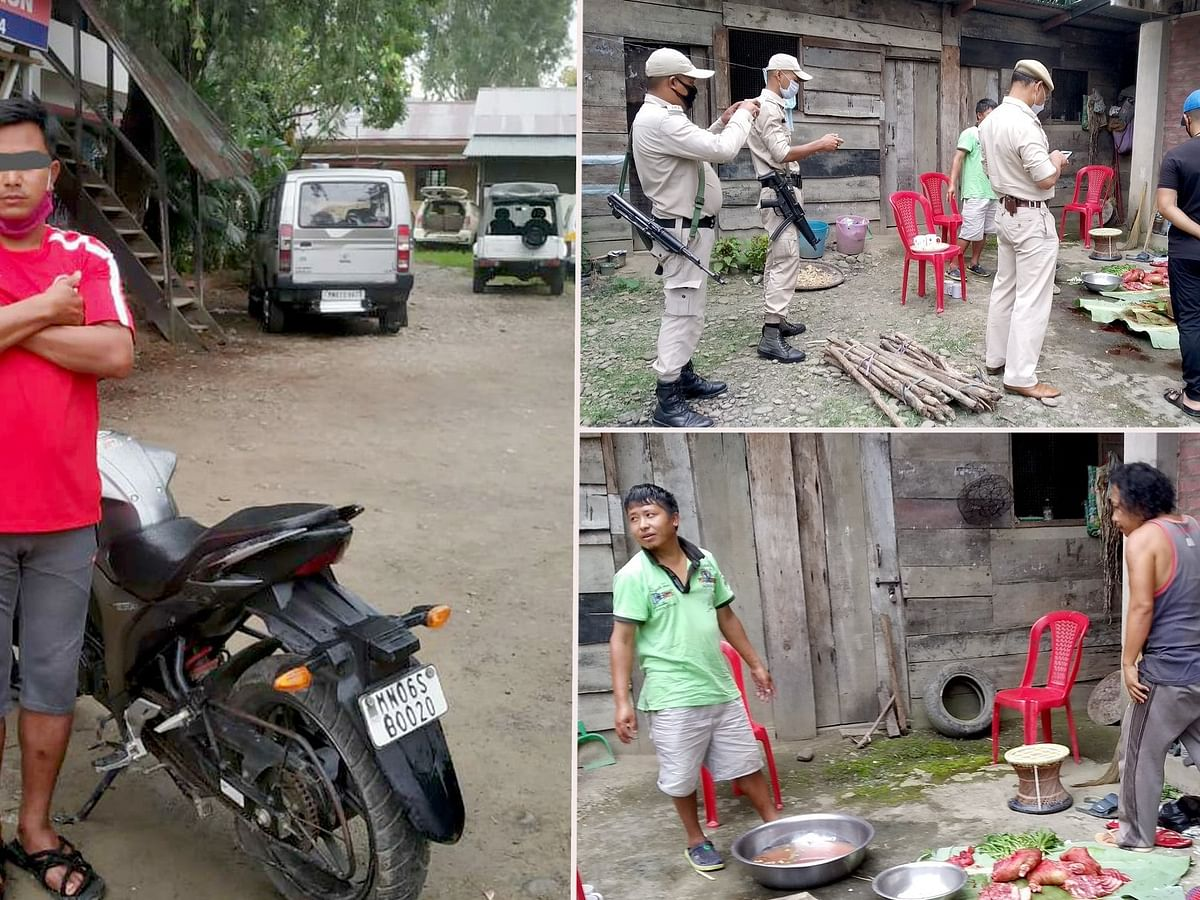 Manipur: Man drags dog on bike, caught on camera, arrested in Imphal