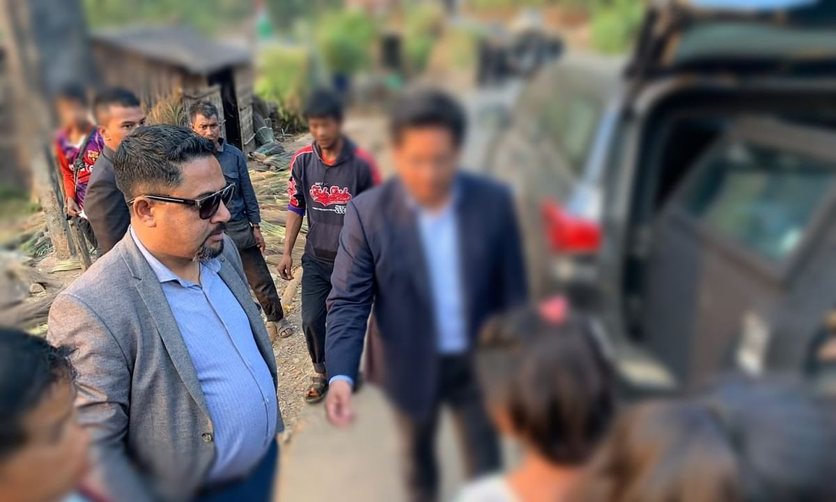 A contractual Officer on Special Duty to Meghalaya CM lands in trouble