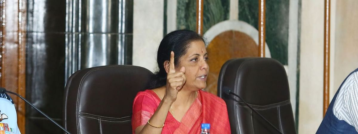 Finance minister Nirmala Sitharaman herself described it as 'an act of God'