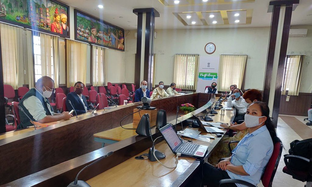 Review meeting held on Thursday in Shillong