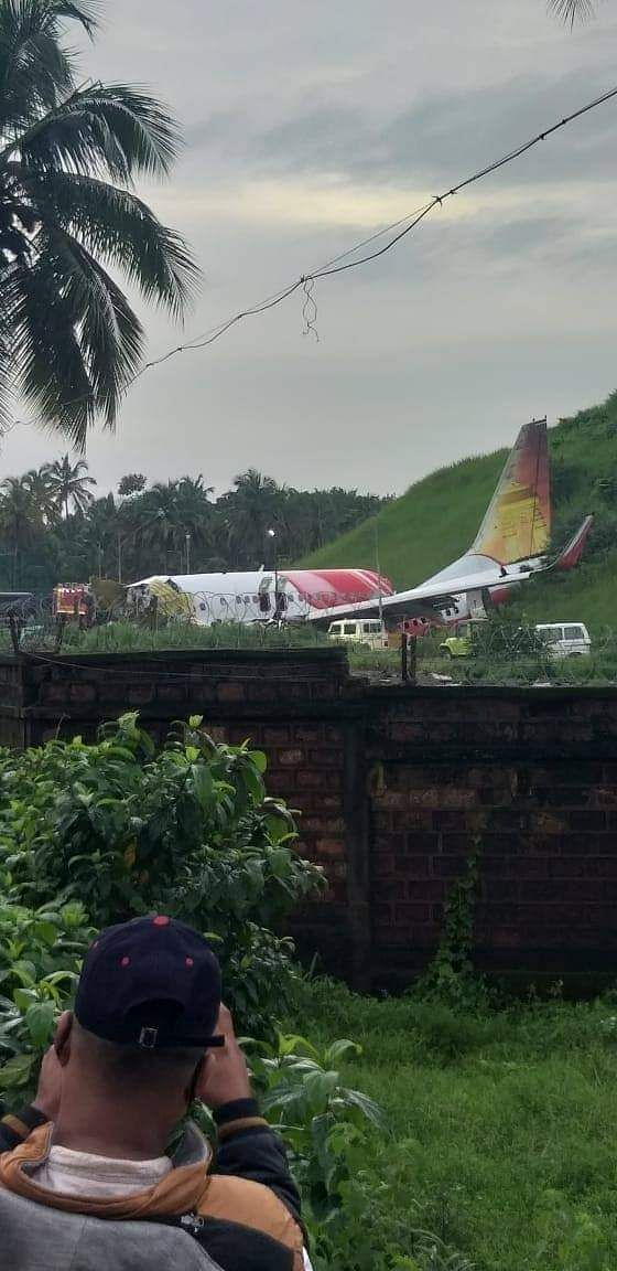18 people, including two pilots, were killed when an Air India Express flight from Dubai with 190 on board overshot the tabletop runway in Kozhikode airport on Friday night