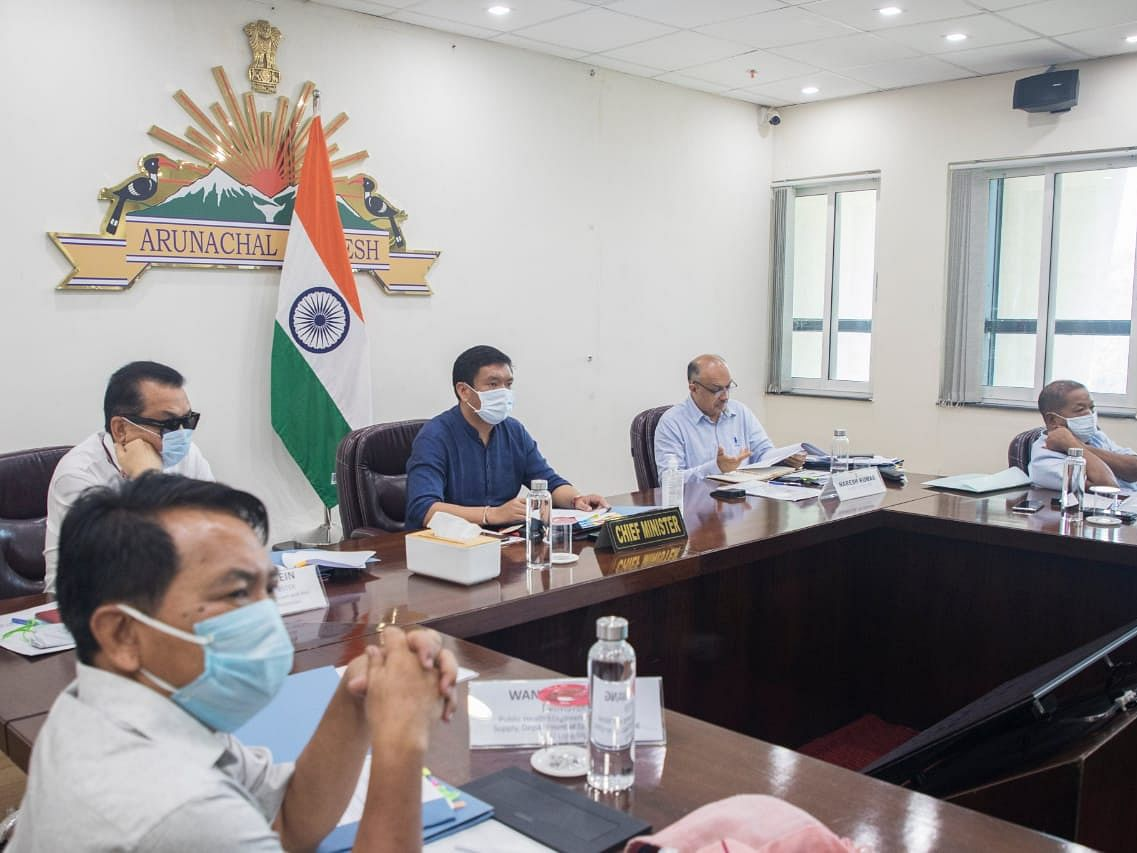 Arunachal Pradesh: CM Pema Khandu reviews state's disaster preparedness level