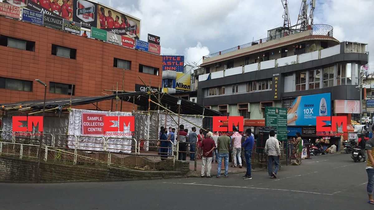 COVID-19: Shillong locals lead the way, turn up at random testing centres in hordes