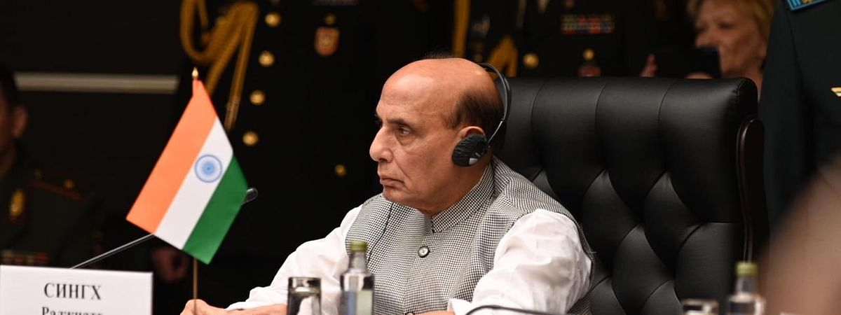 Defence minister Rajnath Singh meets CDS, NSA and 3 armed service chiefs