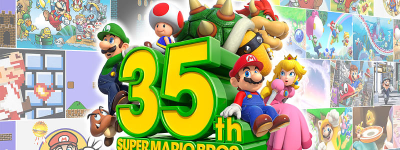The new Mario games bid to celebrate its 35 years since the initial launch of Super Mario Bros