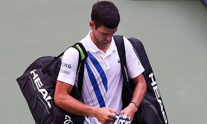 Novak said, he will turn the incident into a lesson for growth and evolution as a player and human being