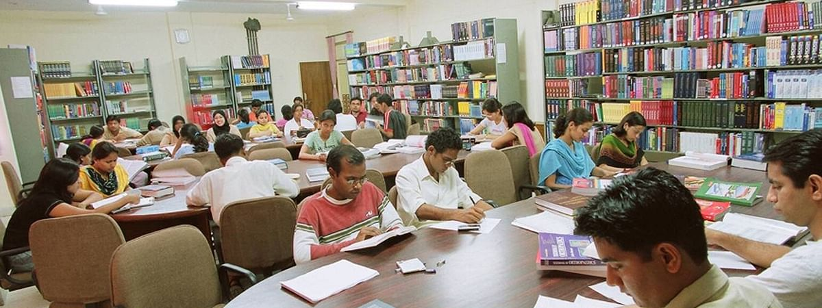 The cut-off percentage has gone higher in all the 10 courses offered by the college by 0.5 to 5 percent.