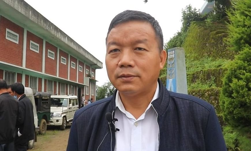 NPF MLA Leishiyo Keishing
