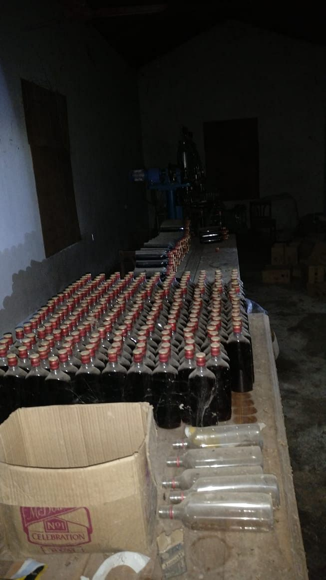 107 cases of rum has been recovered