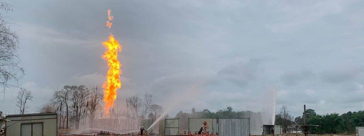 The latest development has compelled OIL to take back the Baghjan gas well number five in Assam's Tinsukia district to its blowout status with the well-spewing fire