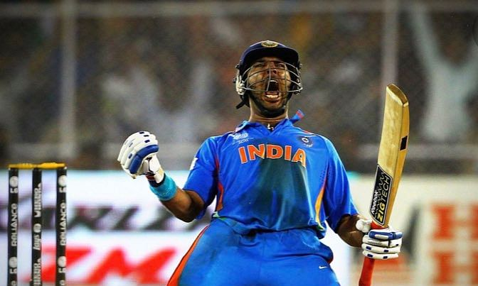 Yuvraj Singh was the Player of the Tournament in India's 2011 World Cup victory for his brilliant all round performance