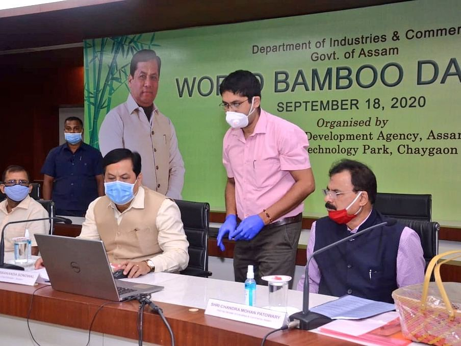 Bamboo has a deep connection with Assamese society: CM Sonowal