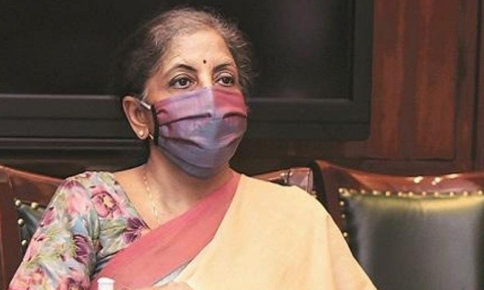 Union finance minister Nirmala Sitharaman claimed in the parliament that there was no provision in the law to compensate the state for loss of GST revenue out of the CFI