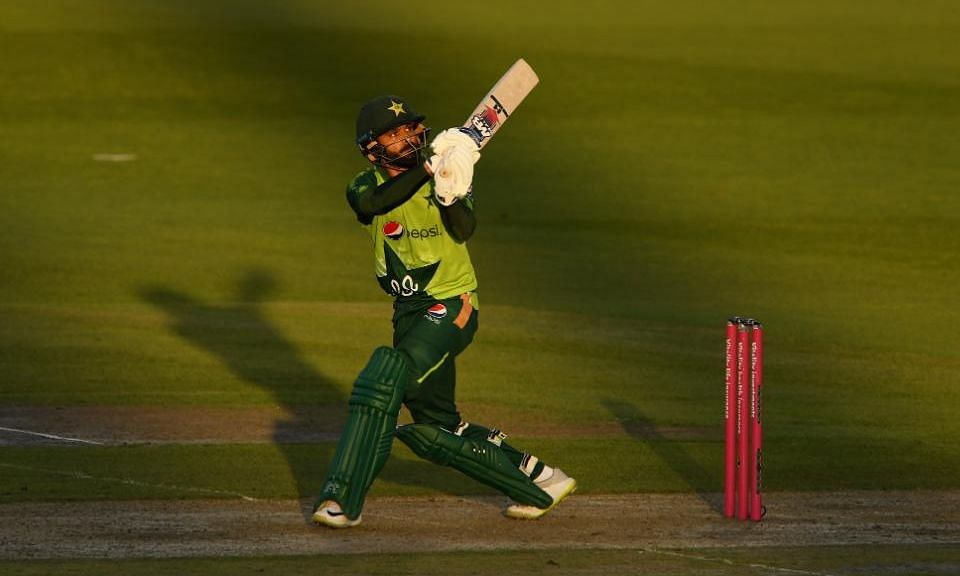 Mohammad Hafeez was declared the Player of the Series for his brilliant performance with the bat