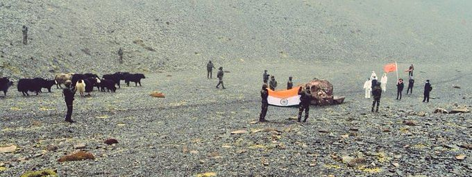 The Chinese thanked Indian Army for its gesture