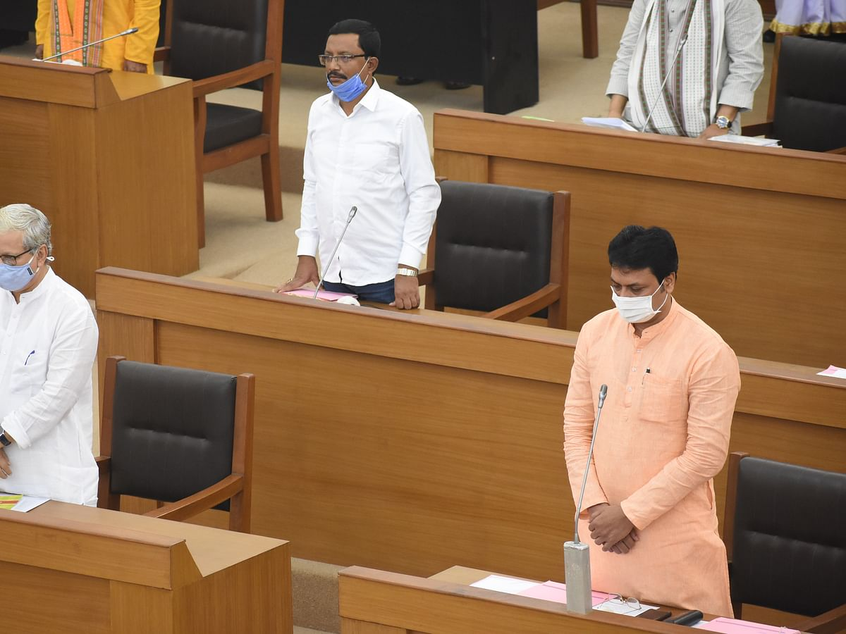 Tripura Assembly passes bill to penalise officials for delay in service delivery