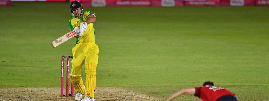 Mitchell Marsh got Australia over the line by five wickets in the end scoring an unbeaten 39 of 36