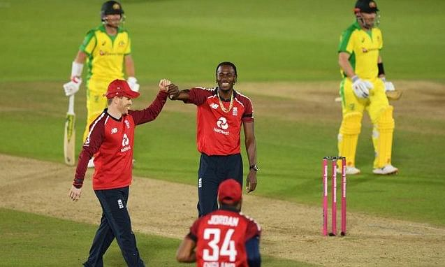 England pulled off a nail-biting victory against Australia in the first T20I in Southampton on Friday