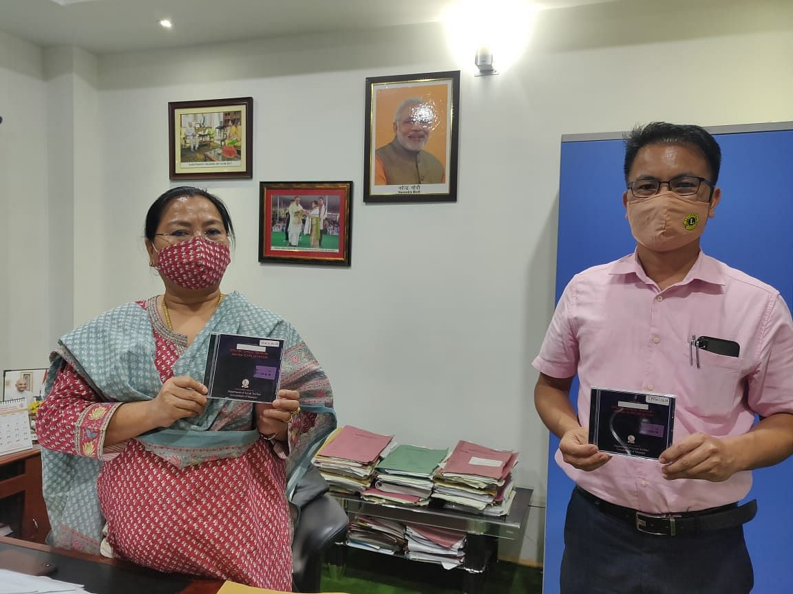 Manipur: Minister Nemcha launches video on prevention of 'online child sexual abuse'