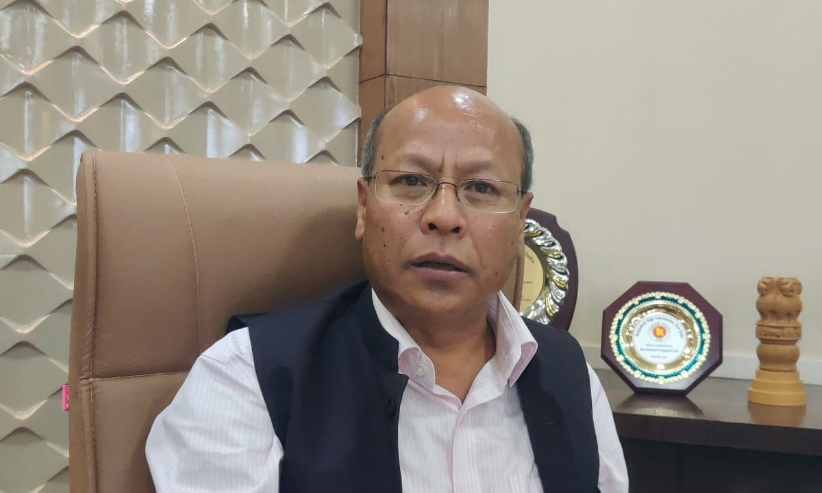 Deputy chief minister Prestone Tynsong informed that RAT test is prescribed norms given by ICMR
