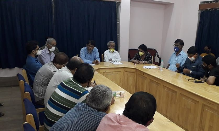 Tripura Assembly of Journalist holds a meeting at Agartala Press club on Sunday