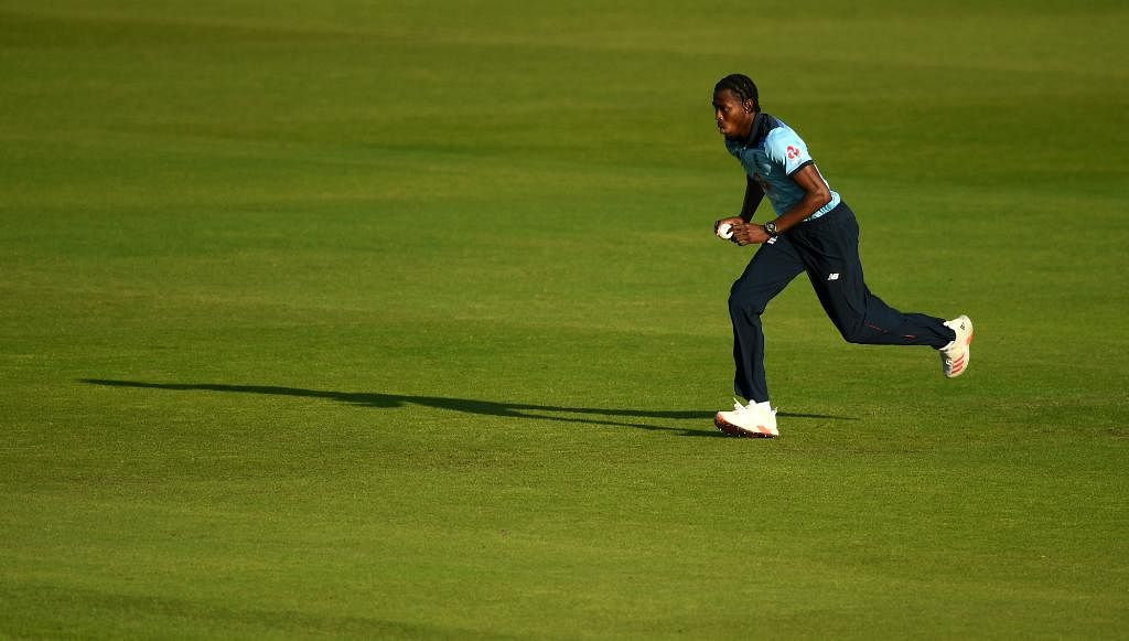 Jofra Archer was adjudged the Player of the Match for his deadly 3/34 with the ball