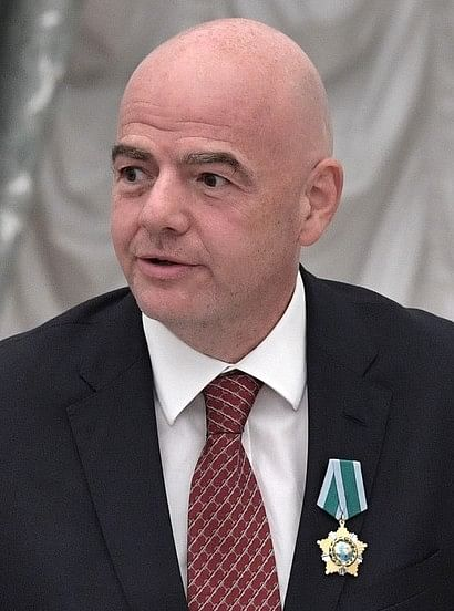 Gianni Infantino took up FIFA presidency in 2016 after a generation of international leaders were removed in suspicion of corruption in soccer