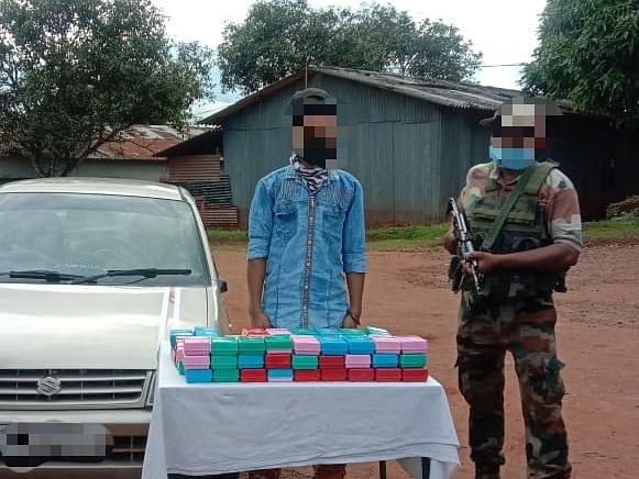 Manipur: Assam Rifles recovers Brown Sugar worth over Rs 2 crore