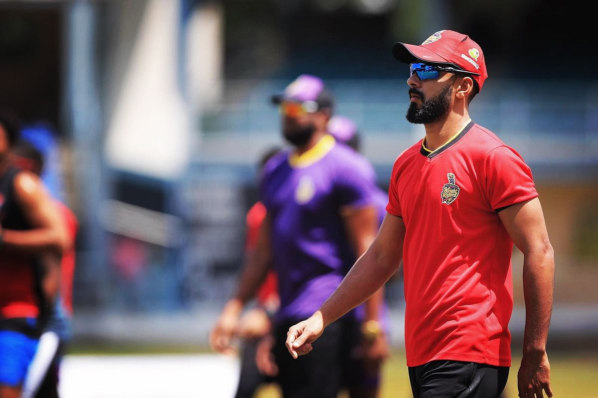 Khan picked up eight wickets in eight matches with an impressive economy rate of 7.43 in the CPL 2020