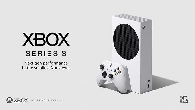 This is how the 'smallest Xbox ever' Series S looks