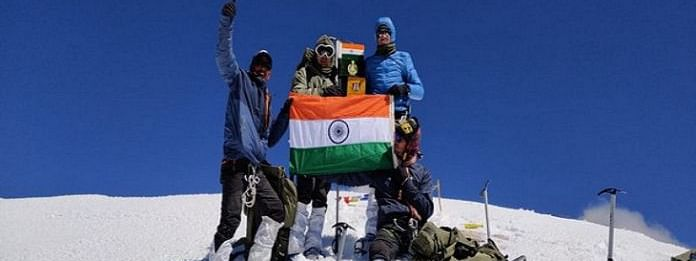 The ITBP has earned the credit of completing 213 mountaineering expeditions till date and has been able to set a new record.