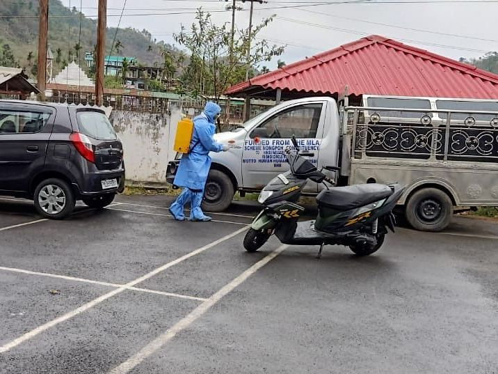 Meghalaya secretariat office to be sanitized as 6 COVID-19 cases detected