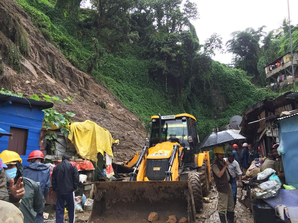 In India, 420,000 sq km, or 12.6% of the total land, is landslide-prone
