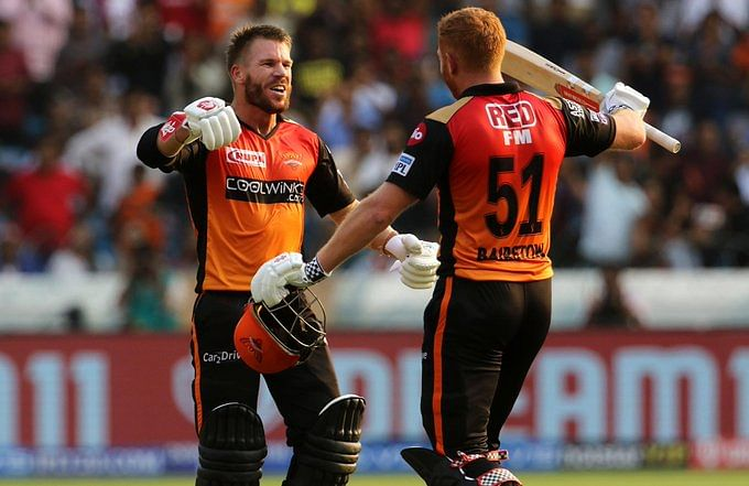 Warner and Bairstow emerged as one of the most destructive opening combinations in IPL 2019