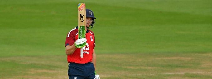 Jos Buttler hit a masterful 77* to lead England to a six-wicket victory in the second Vitality T20I against Australia at the Rose Bowl, on Sunday