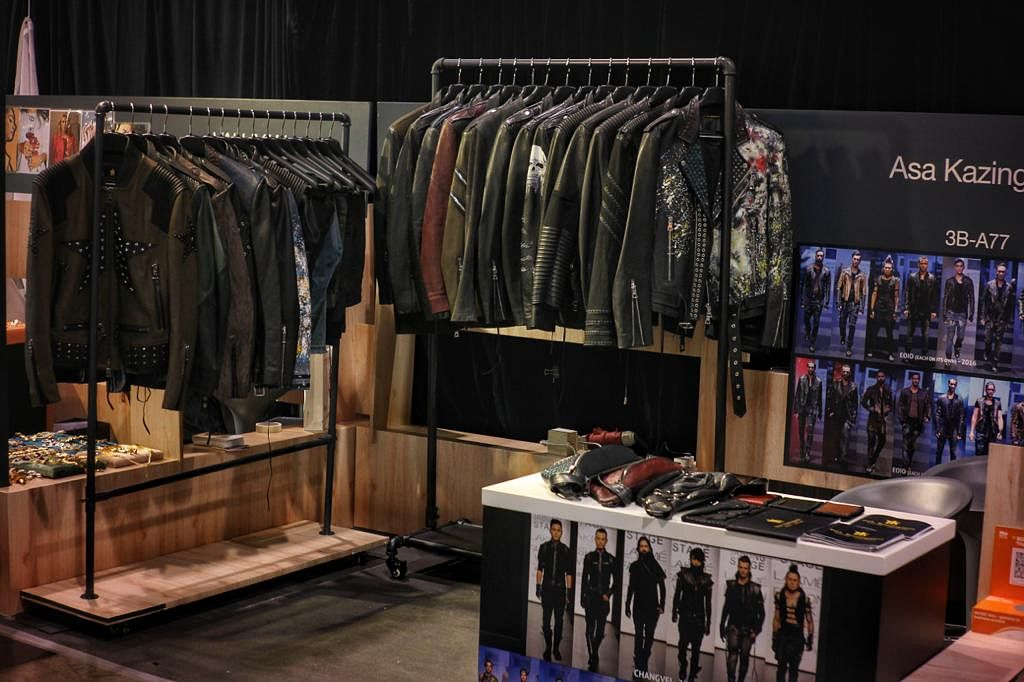 Asa Kazingmei's customised leather collections