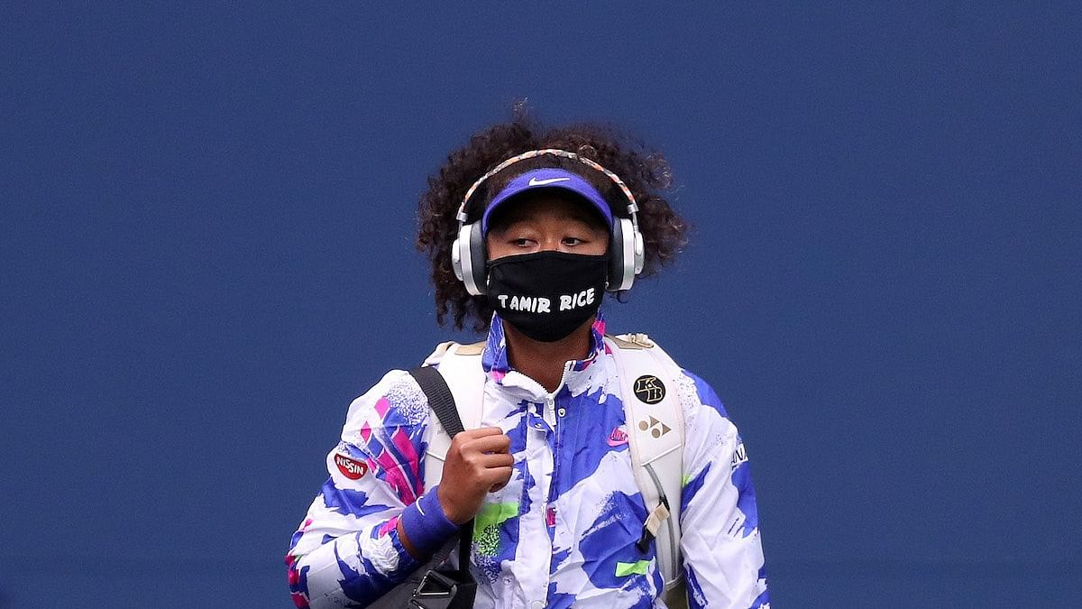 Naomi Osaka wore seven different masks in each of the rounds of the annual tournament having the name of a Black person whose death has been repeatedly raised in nationwide protests