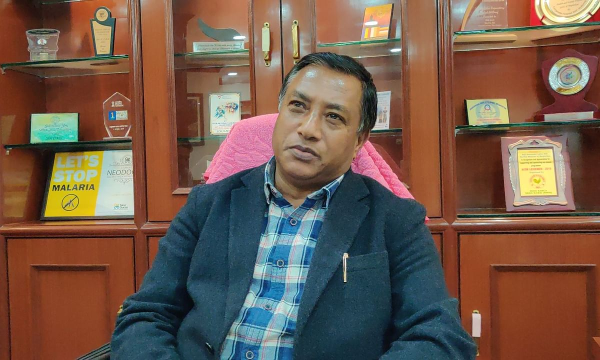 Meghalaya BJP leader AL Hek is also the health minister of the state
