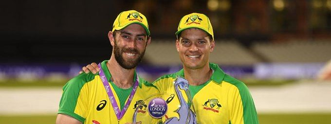 Maxwell and Carey put on massive 212-run-partnership for the sixth wicket which thrived Australia to a match as well as a series victory on Wednesday