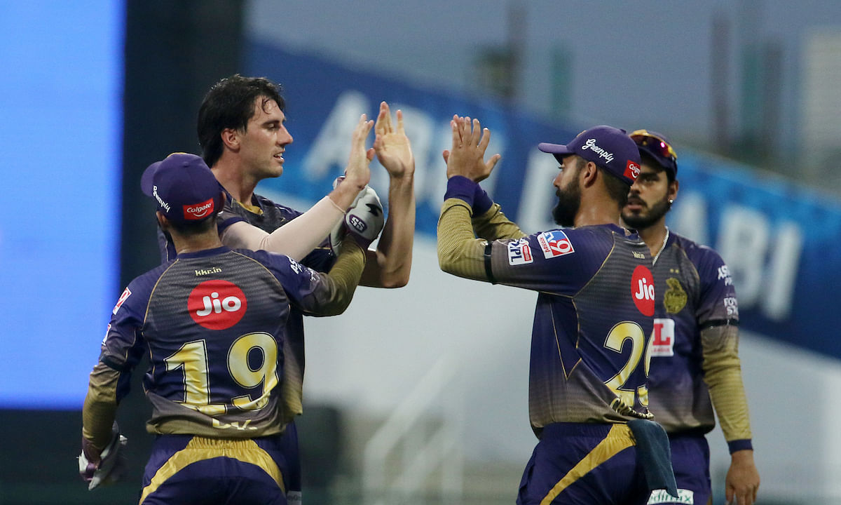 KKR put up great all round show as they beat SRH by 7 wickets on Saturday