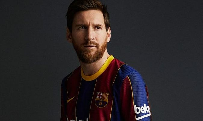 Playing for Barcelona, Messi has scored 634 goals and won 34 titles