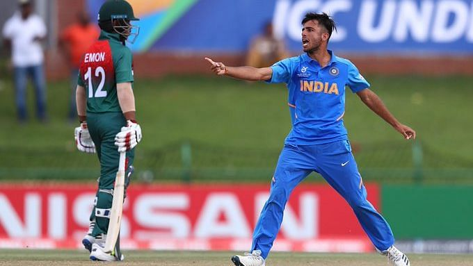 Ravi Bishnoi finished as the highest wicket-taker in the U-19 World Cup 2019/20