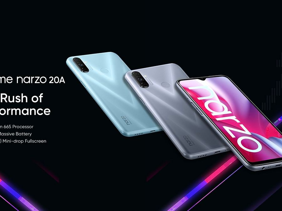 Realme Narzo 20 series launched in India; First sale on September 28