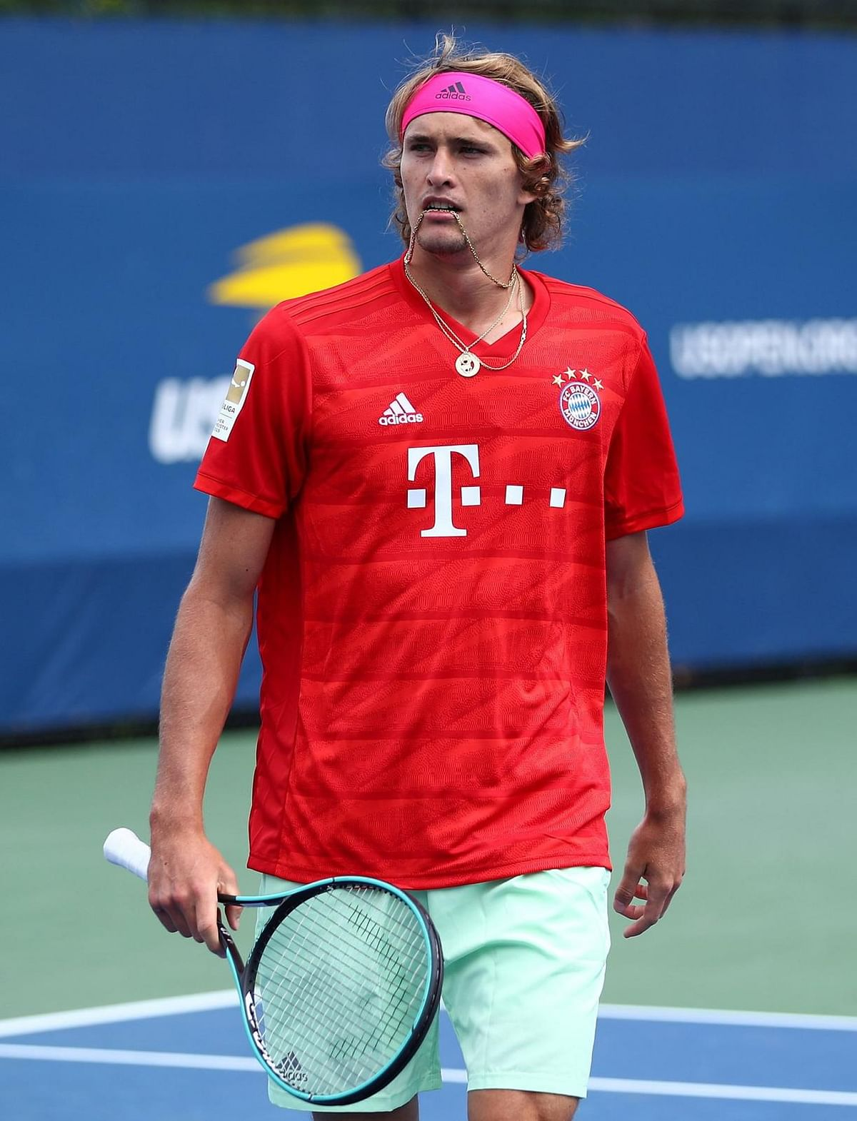 Alexander Zverev will be seeking his his first Grand Slam crown in the final on Monday