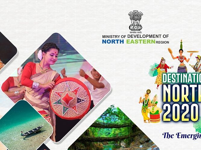 Destination North East 2020 festival official logo, theme song unveiled