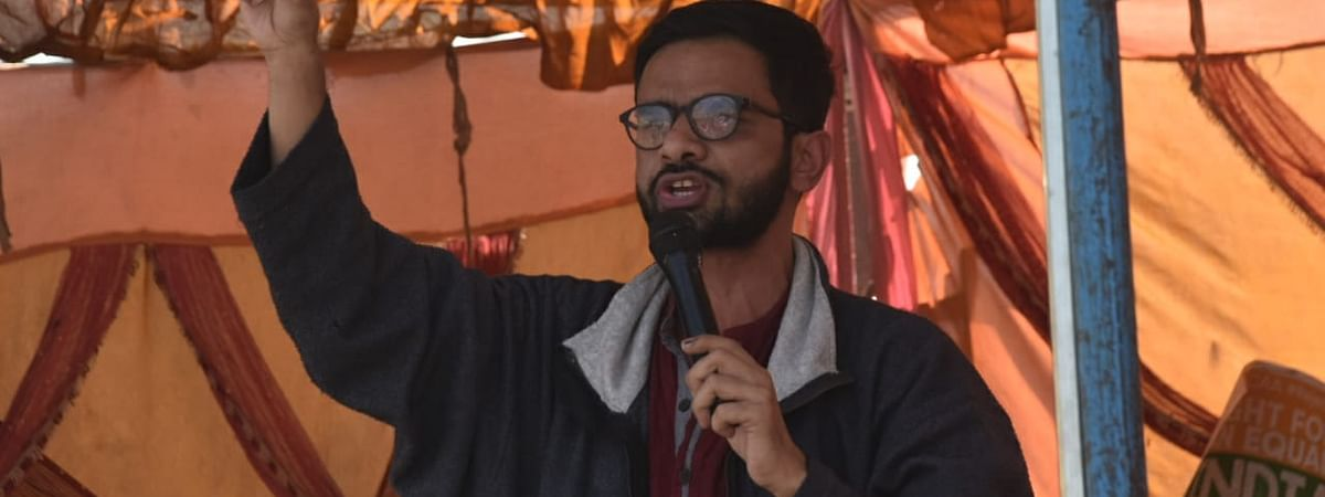 Former JNU student Umar Khalid was arrested  under the stringent UAPA in Delhi for his alleged role in the riots