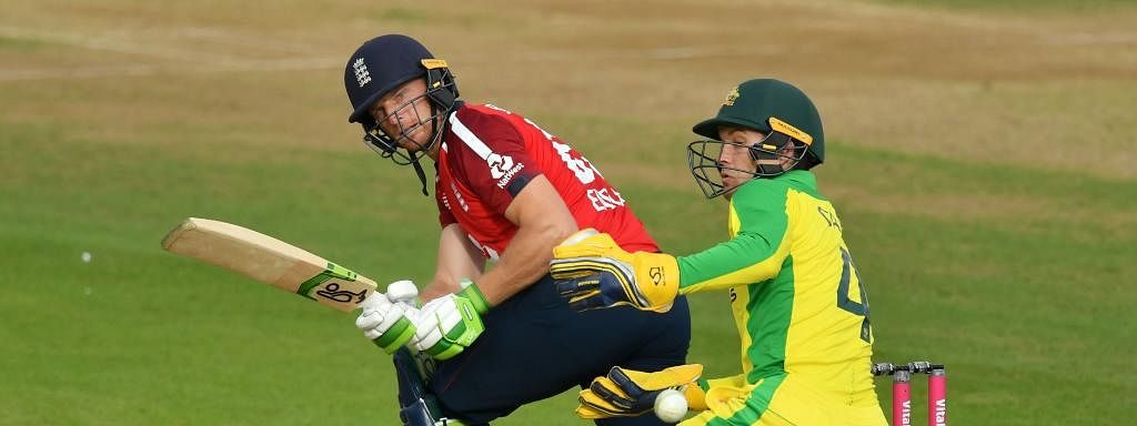 Buttler smashed a match-winning 77 not out in the second match of England's series against Australia on Sunday