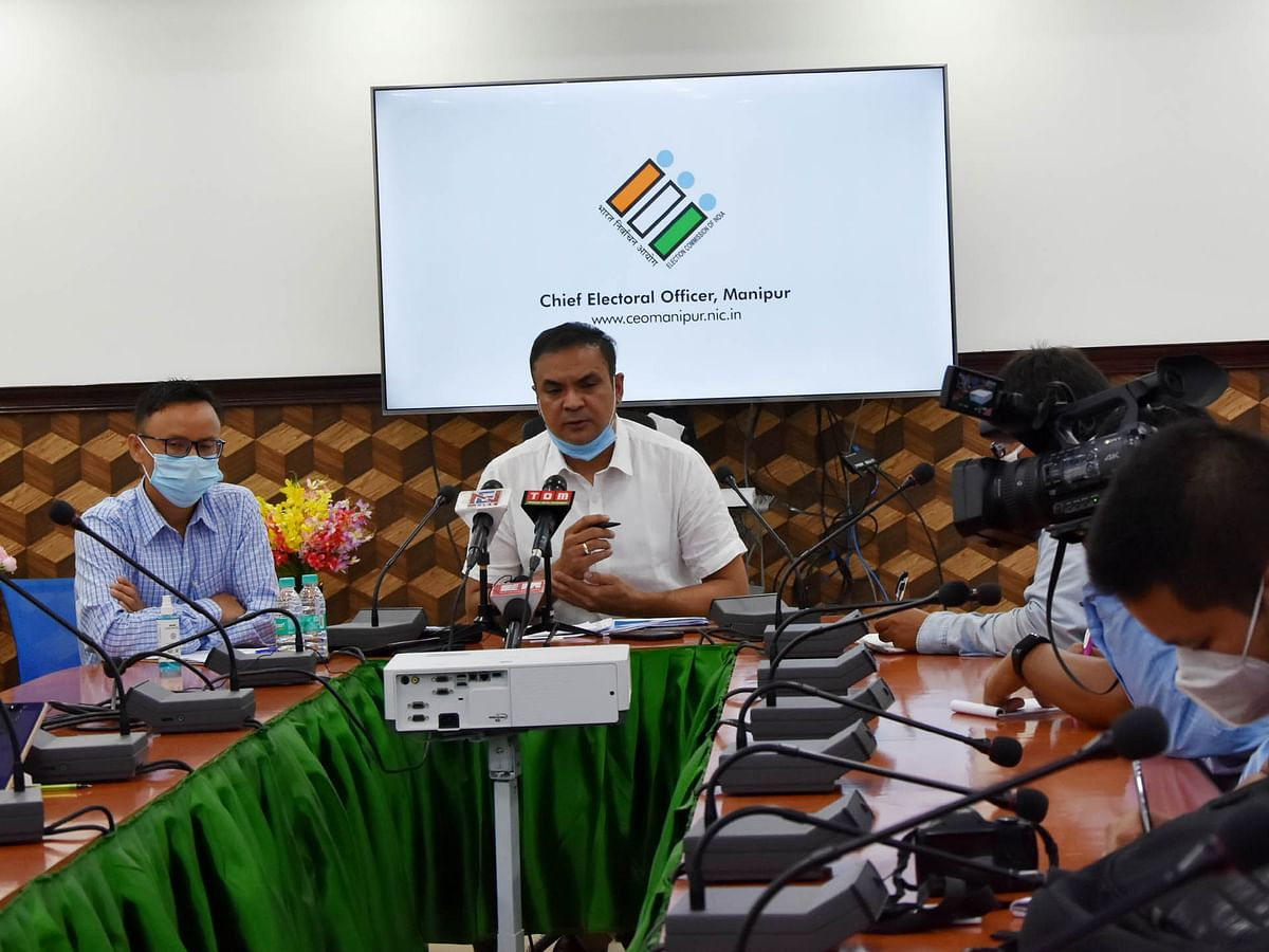 Preparations almost complete for by-elections to 5 assembly constituencies: CEO Manipur